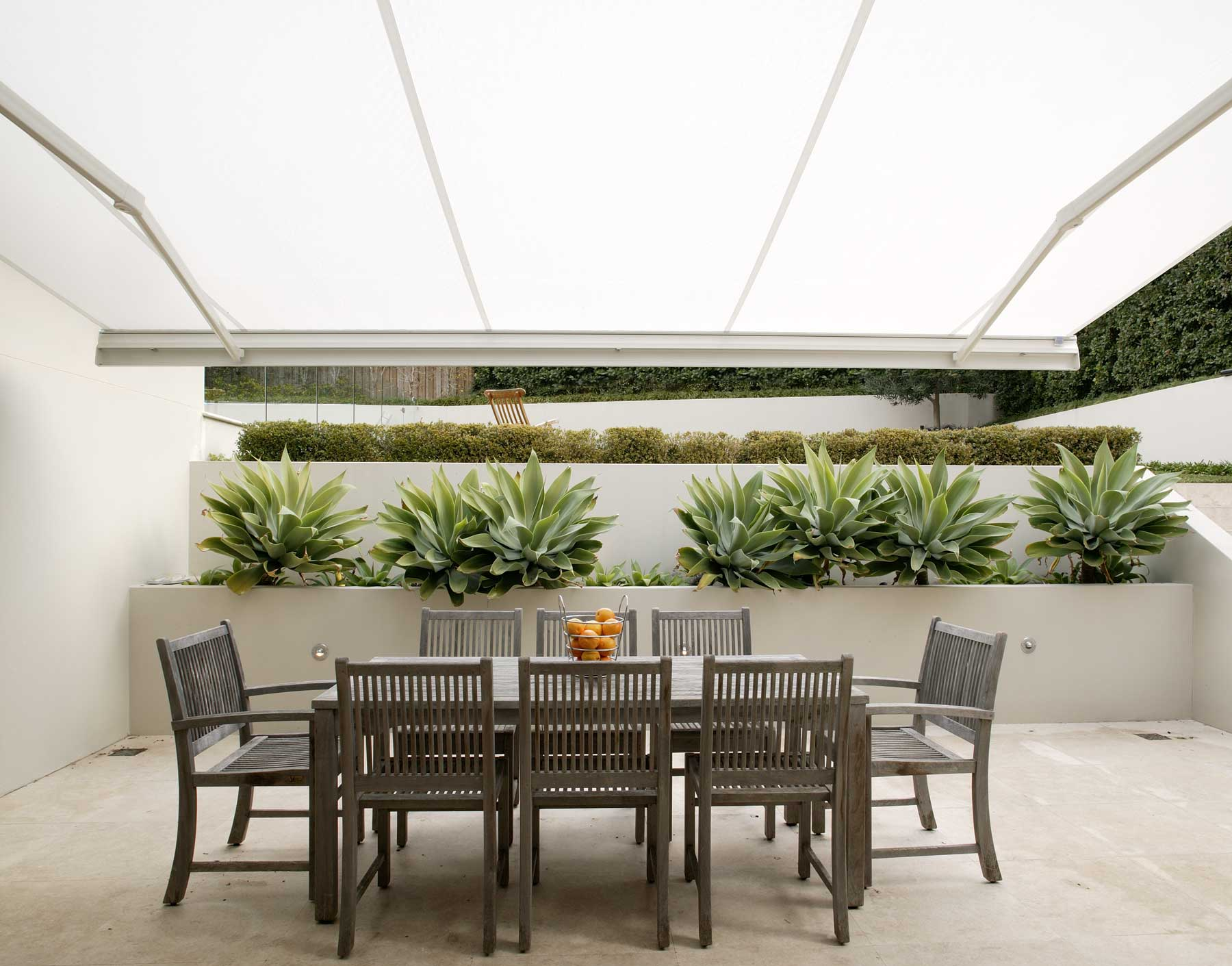 Retractable Awning Amp Folding Arms Awnings Accent Blinds